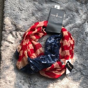 Figure 8 Patriotic Scarf